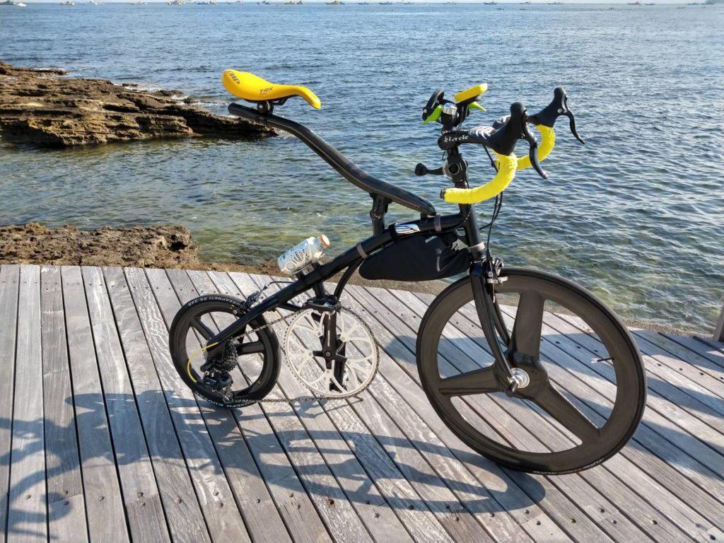 へんてこ自転車